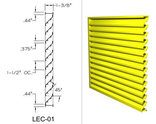 safe air of illinois louvers thin line louvers