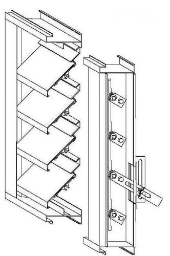 Safe Air of Illinois Louvers Extruded Adjustable